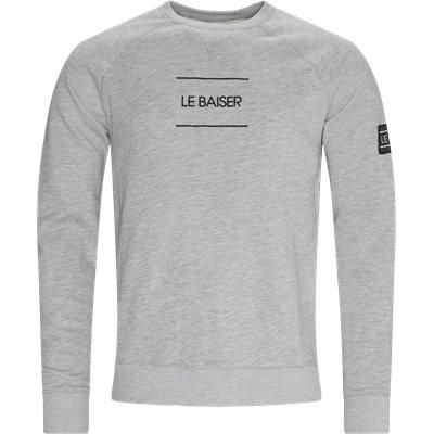 Bayonne Crewneck Sweatshirt Regular fit | Bayonne Crewneck Sweatshirt | Grå